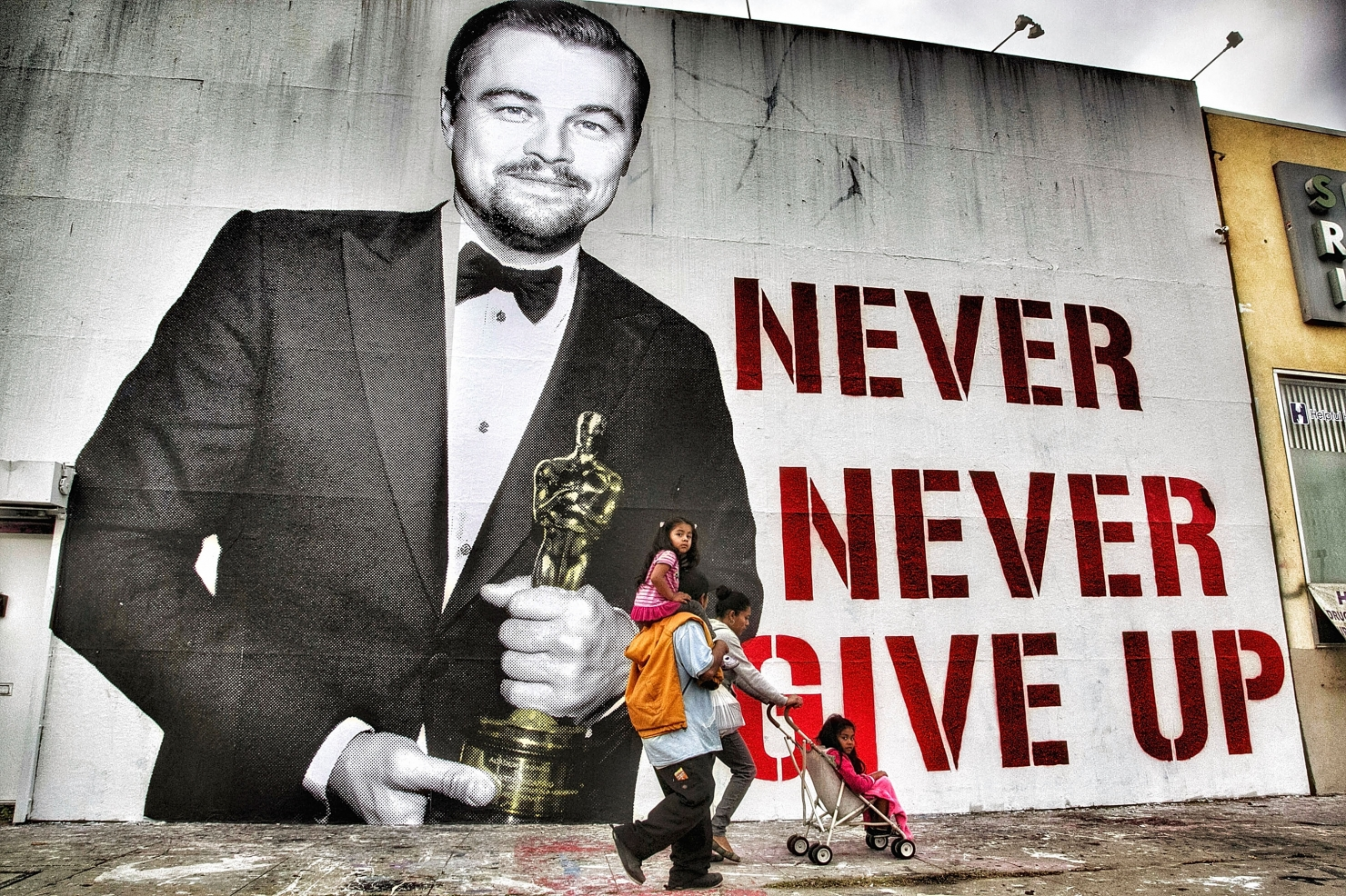 DiCaprio - Never give up