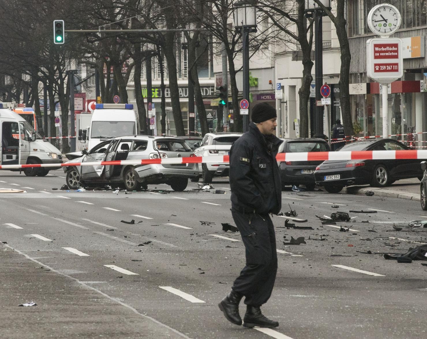 Explozie la Berlin