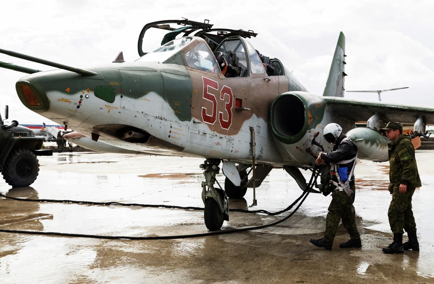 Retragerea forțelor rusești din Siria