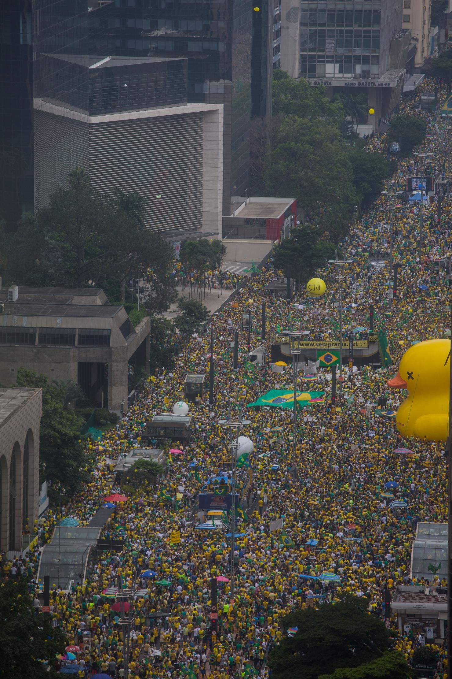 Proteste în Brazilia