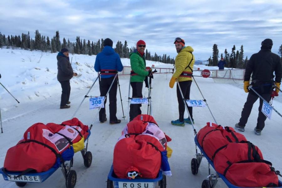 Ultramaratonul de la Polul Nord