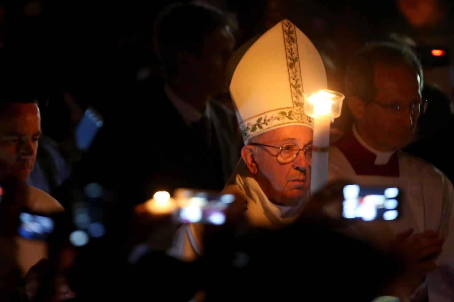 Papa Francisc, Vinerea Mare