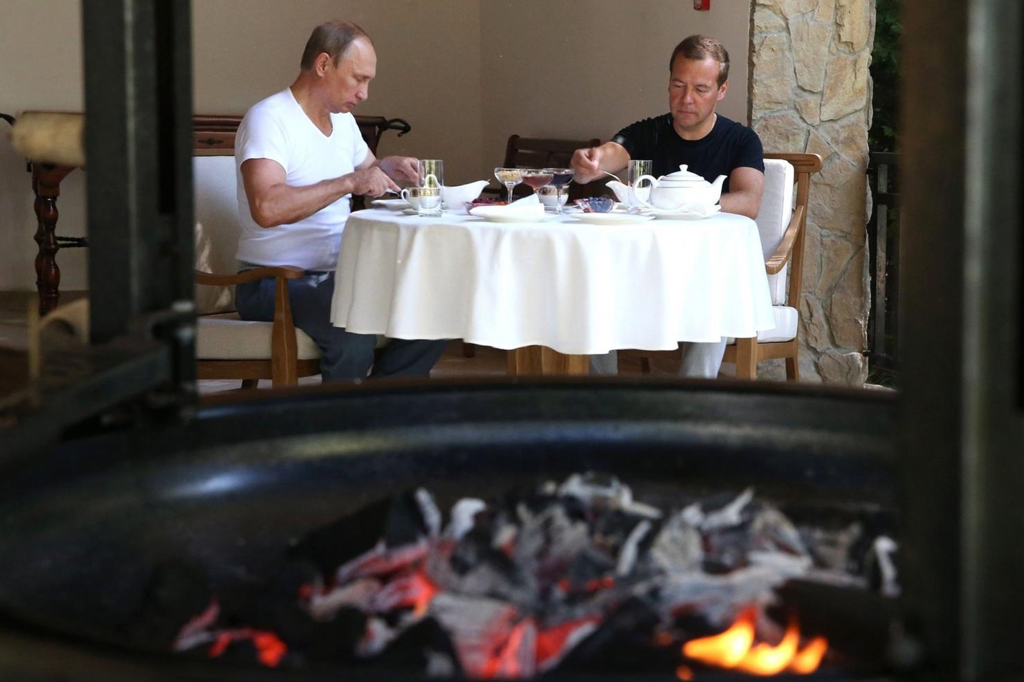 Putin și Medvedev