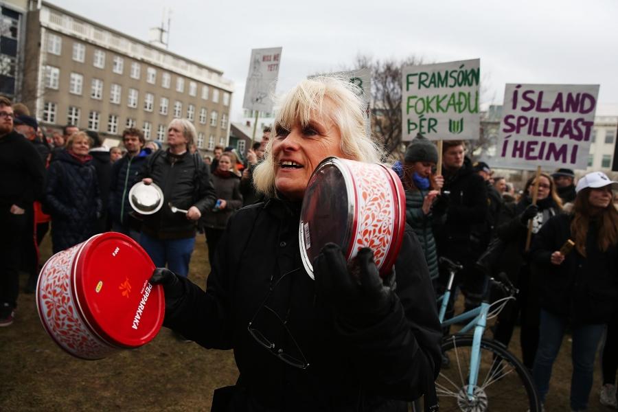 Proteste în Islanda