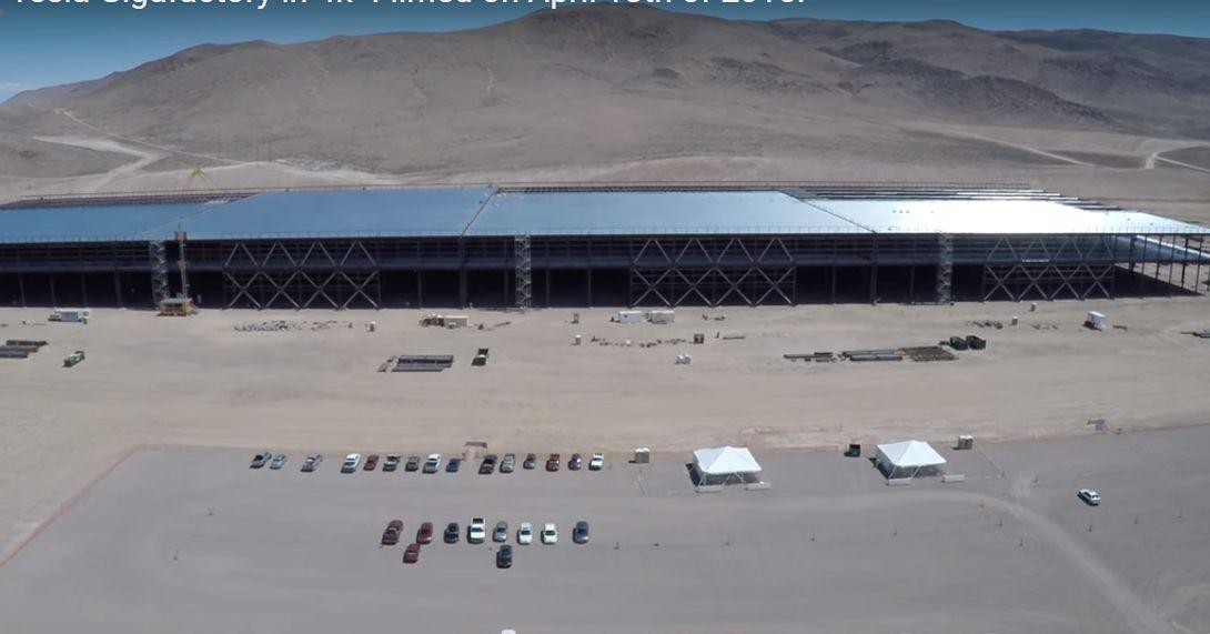 Elon Musk's Gigafactory