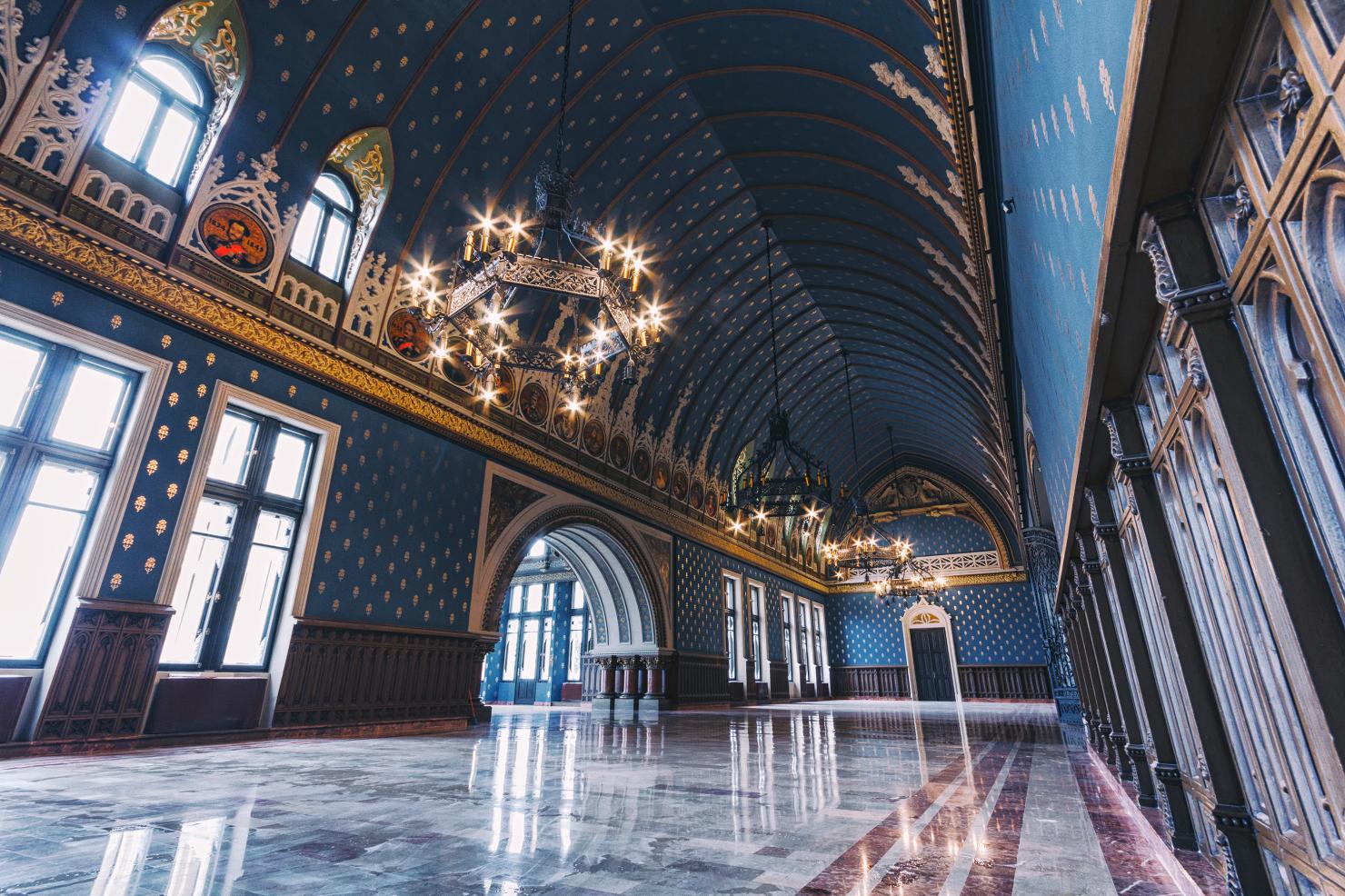 Palatul Culturii, Sala Voievozilor