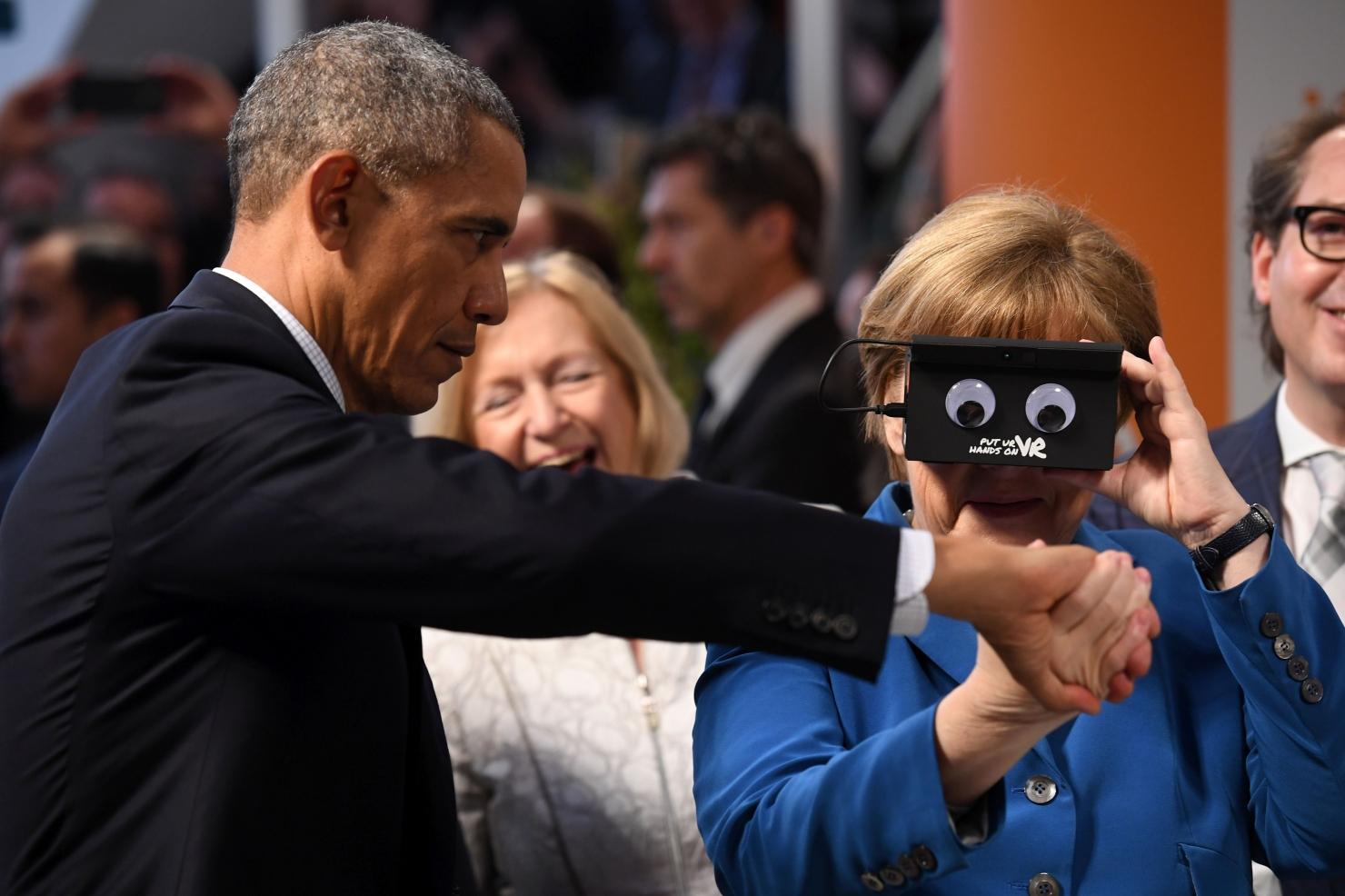 Obama și Merkel