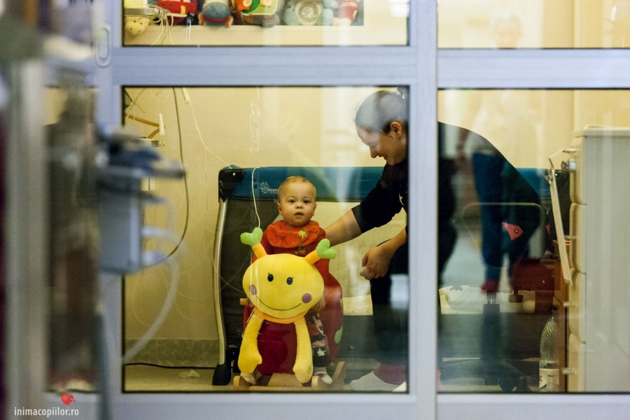 copii la spital