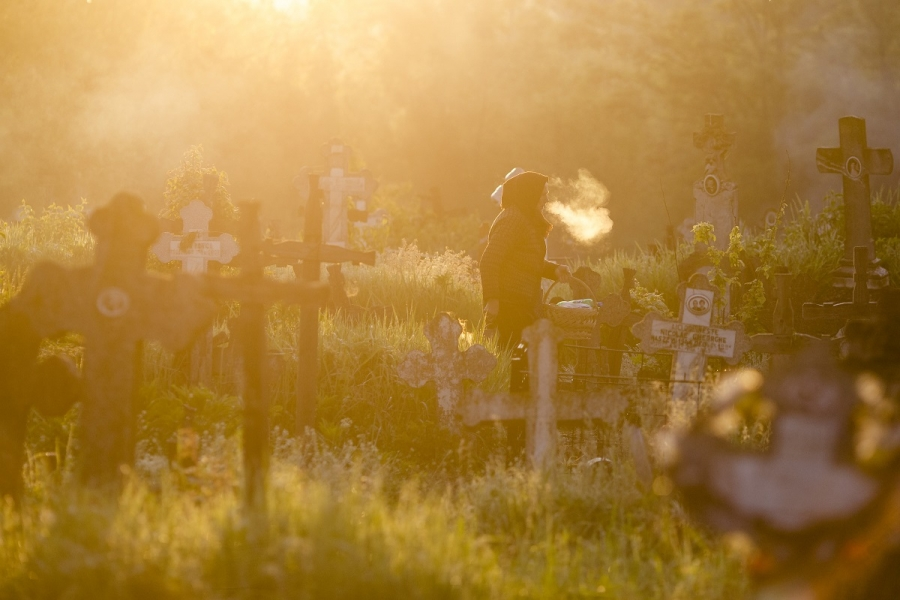 Bătrână cimitir