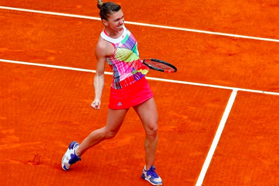 Simona Halep la Madrid