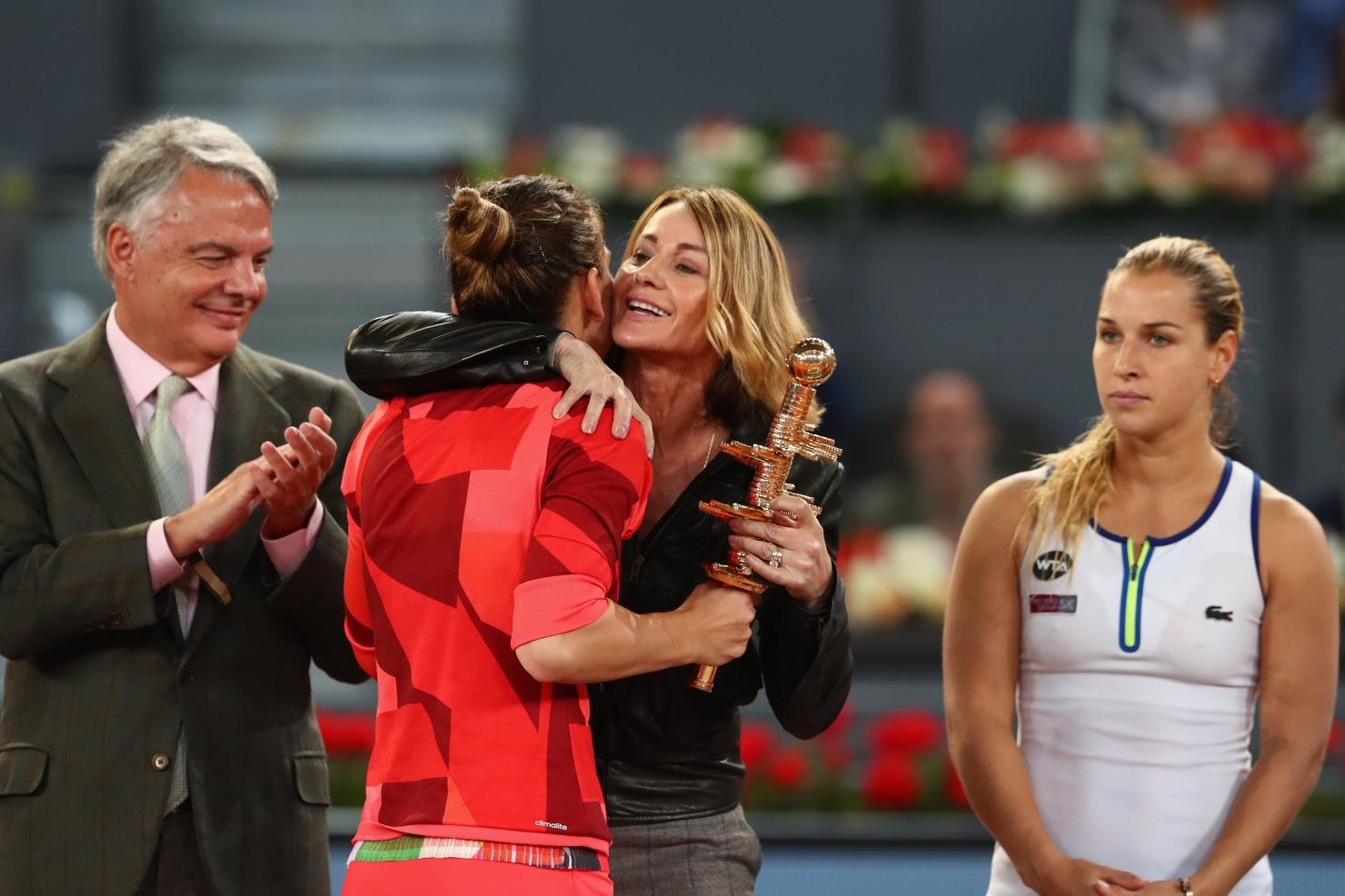 Simona Halep, campioană la Madrid