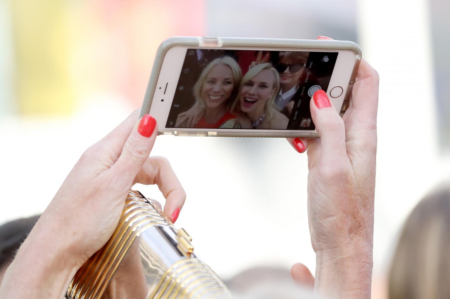 Selfie la Cannes