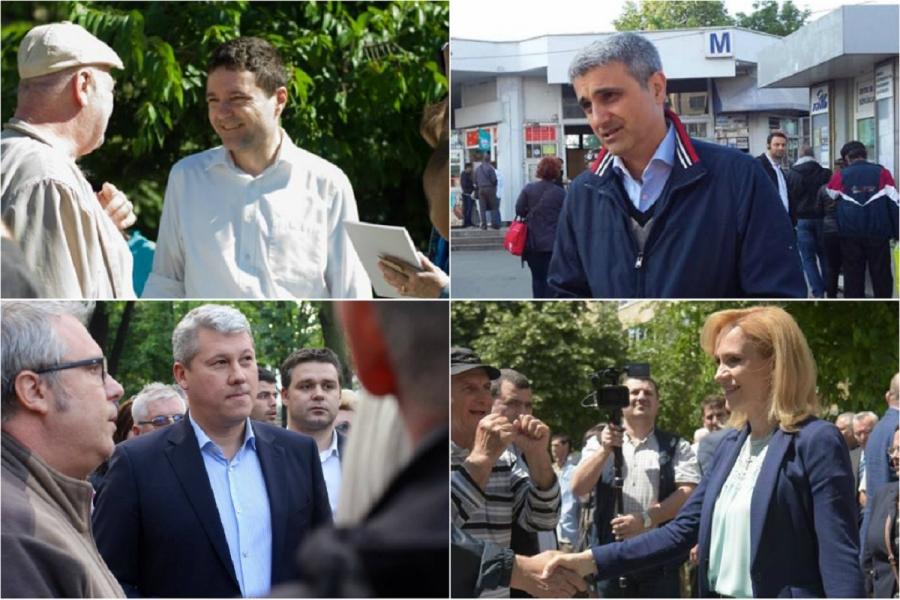 Firea, Predoiu, Turcescu, Nicușor Dan