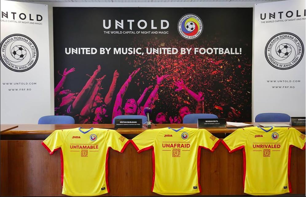 Tricourile Naționala României-UNTOLD