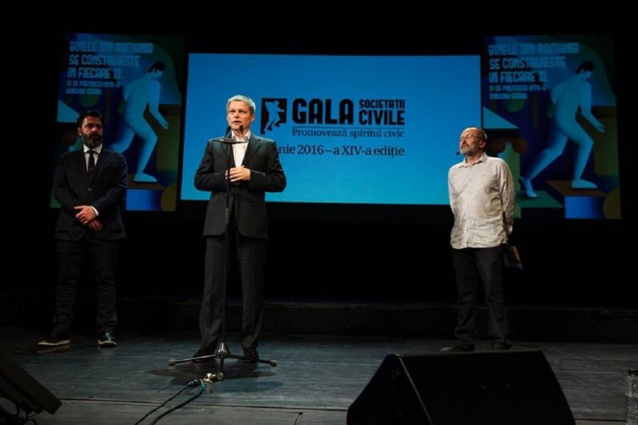 Cioloș Gala Societății Civile