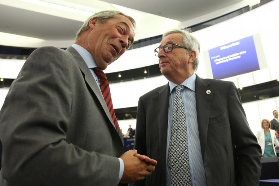 Juncker - Farage