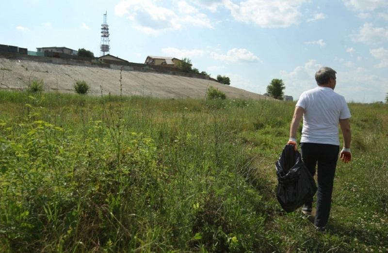 Dacian Cioloș în Parcul Natural Văcărești