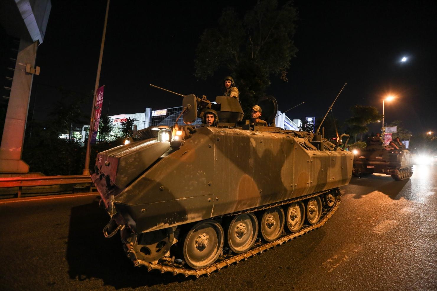 Lovitură de stat în Turcia