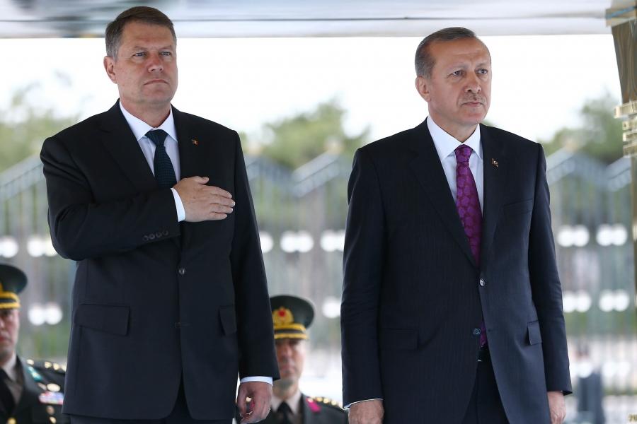 Iohannis si Erdogan