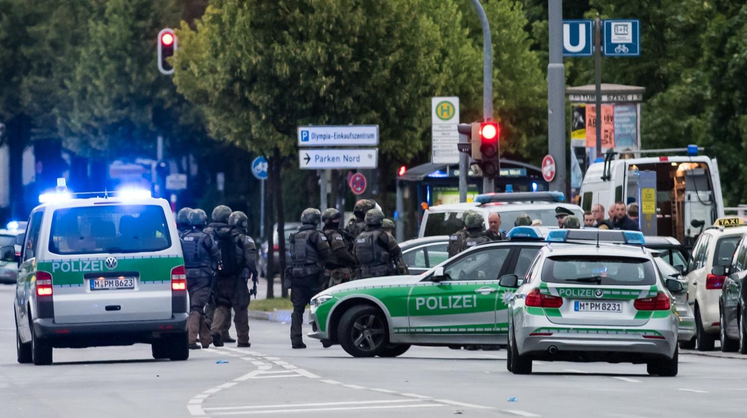 Atac armat în Munchen