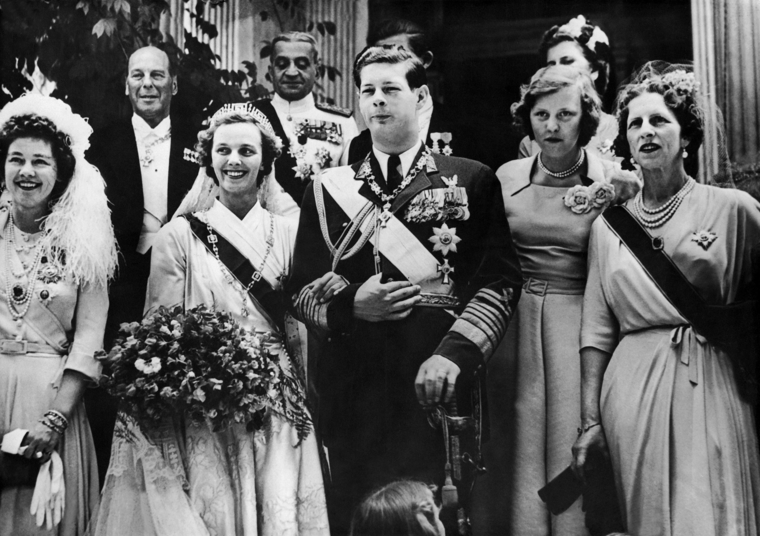 Nunta Regelui Mihai cu Regina Ana