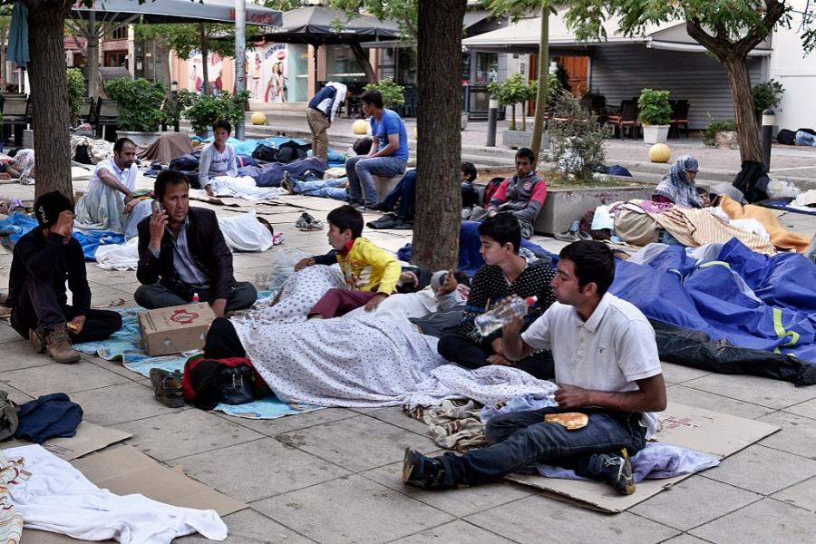 Migranți din Afganistan
