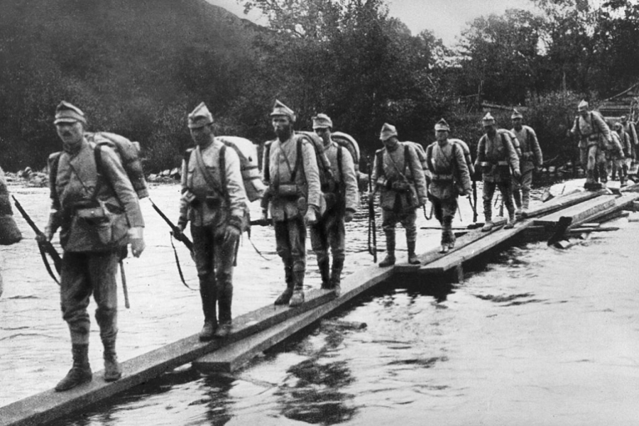 Retragerea soldaților români