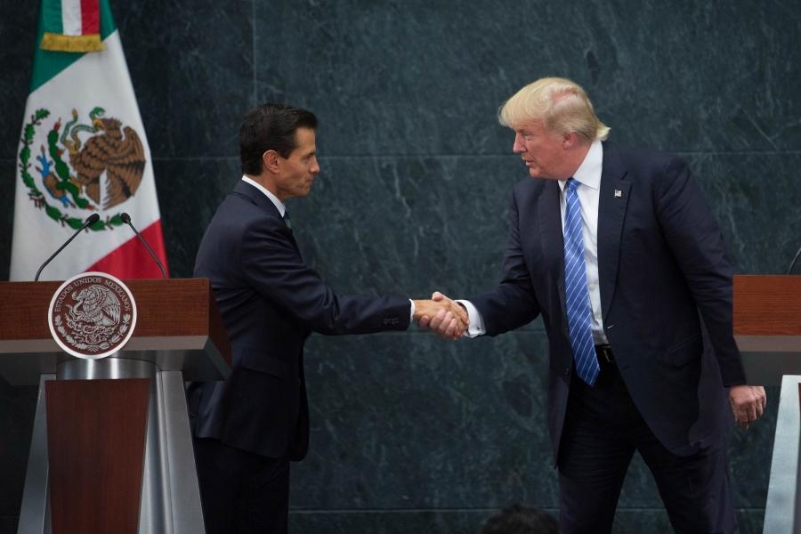 Donald Trump în Mexic