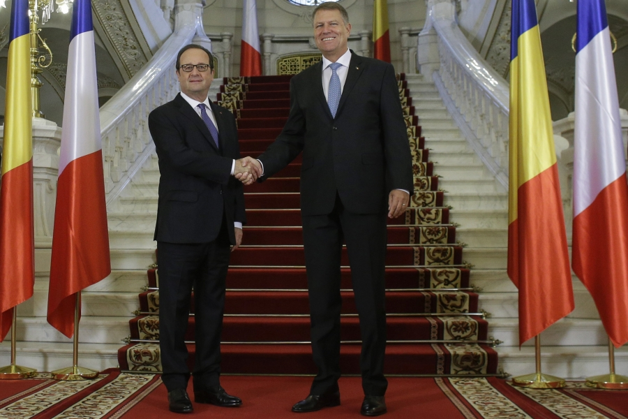 Hollande și Iohannis
