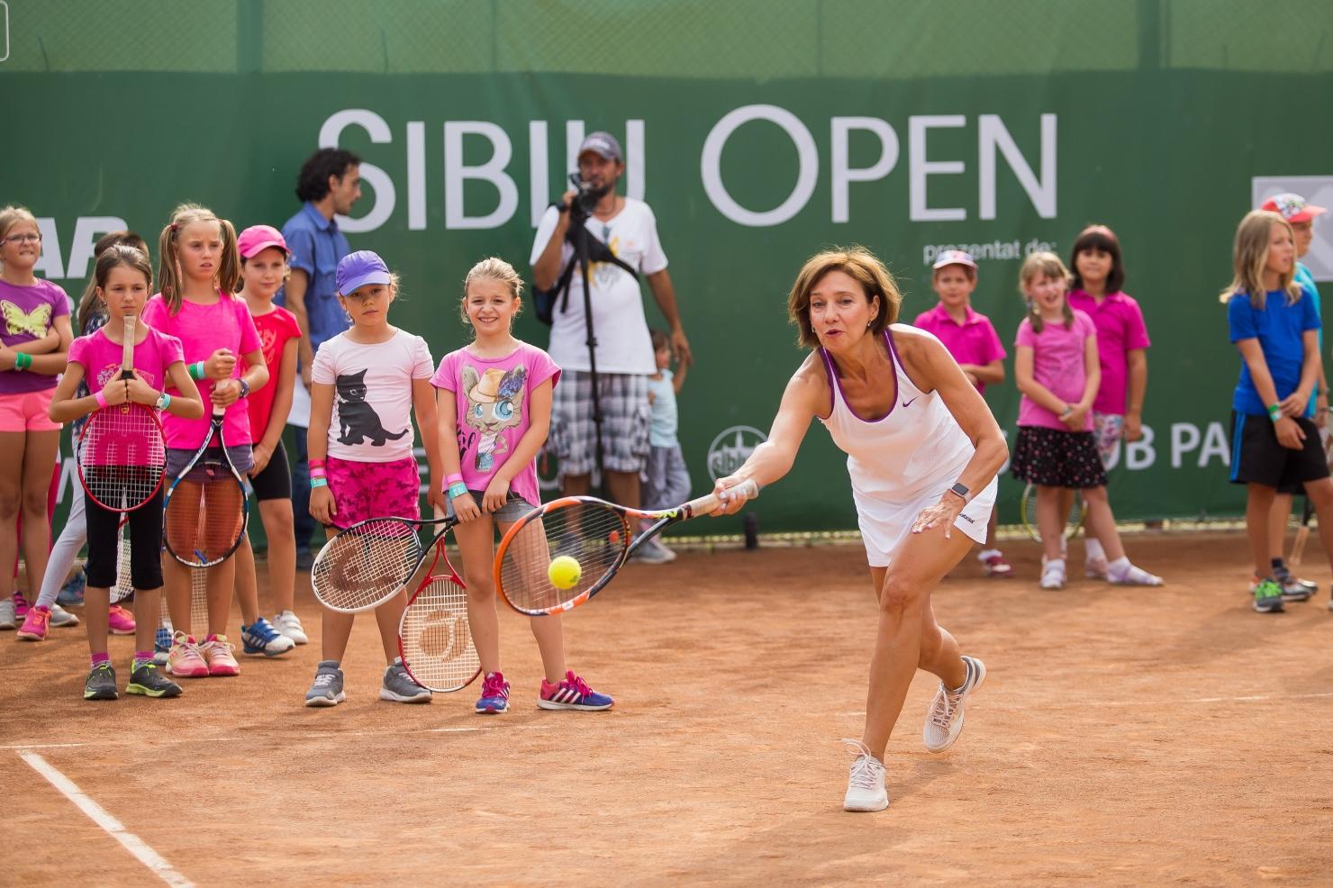 Carmen Iohannis la tenis