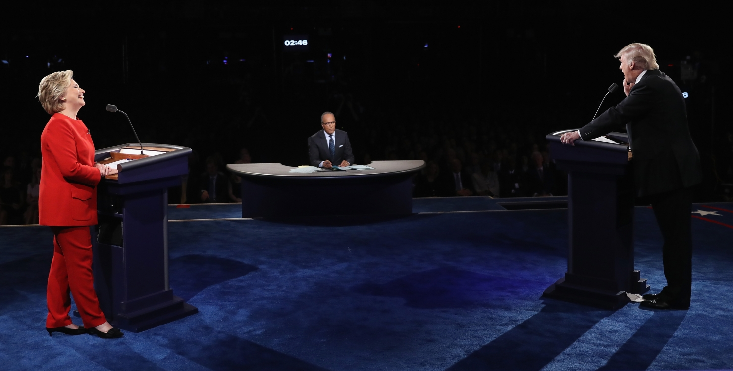 Dezbaterea Clinton-Trump