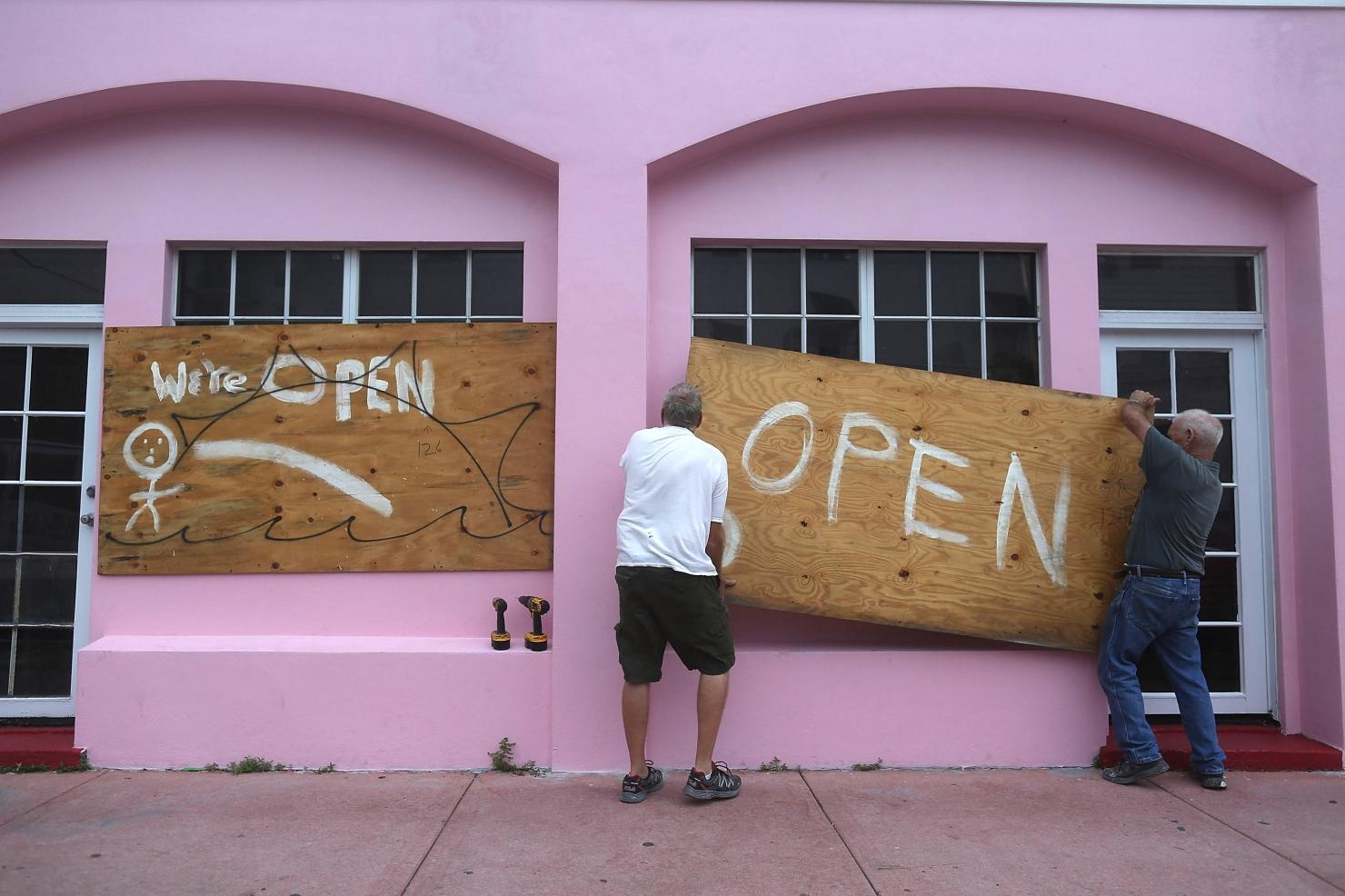 Uraganul Matthew în imagini