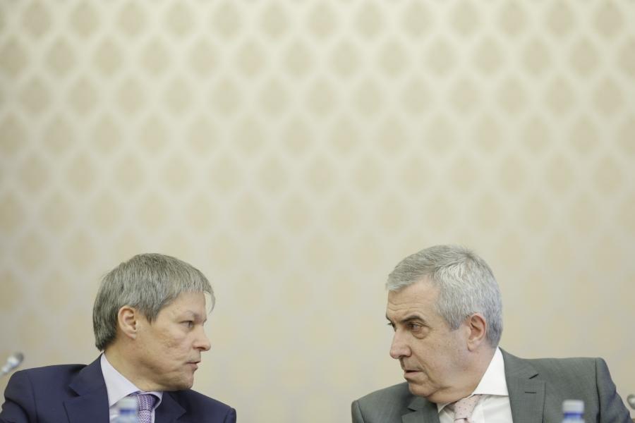Dacian Cioloș și Călin Popescu Tăriceanu