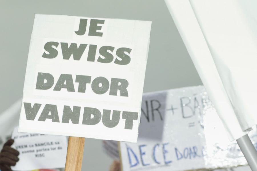 Protest BNR