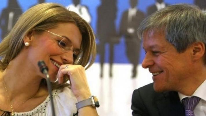 Dacian Cioloș și Alina Gorghiu