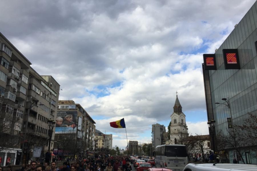 Marș tăcut pentru Colectiv
