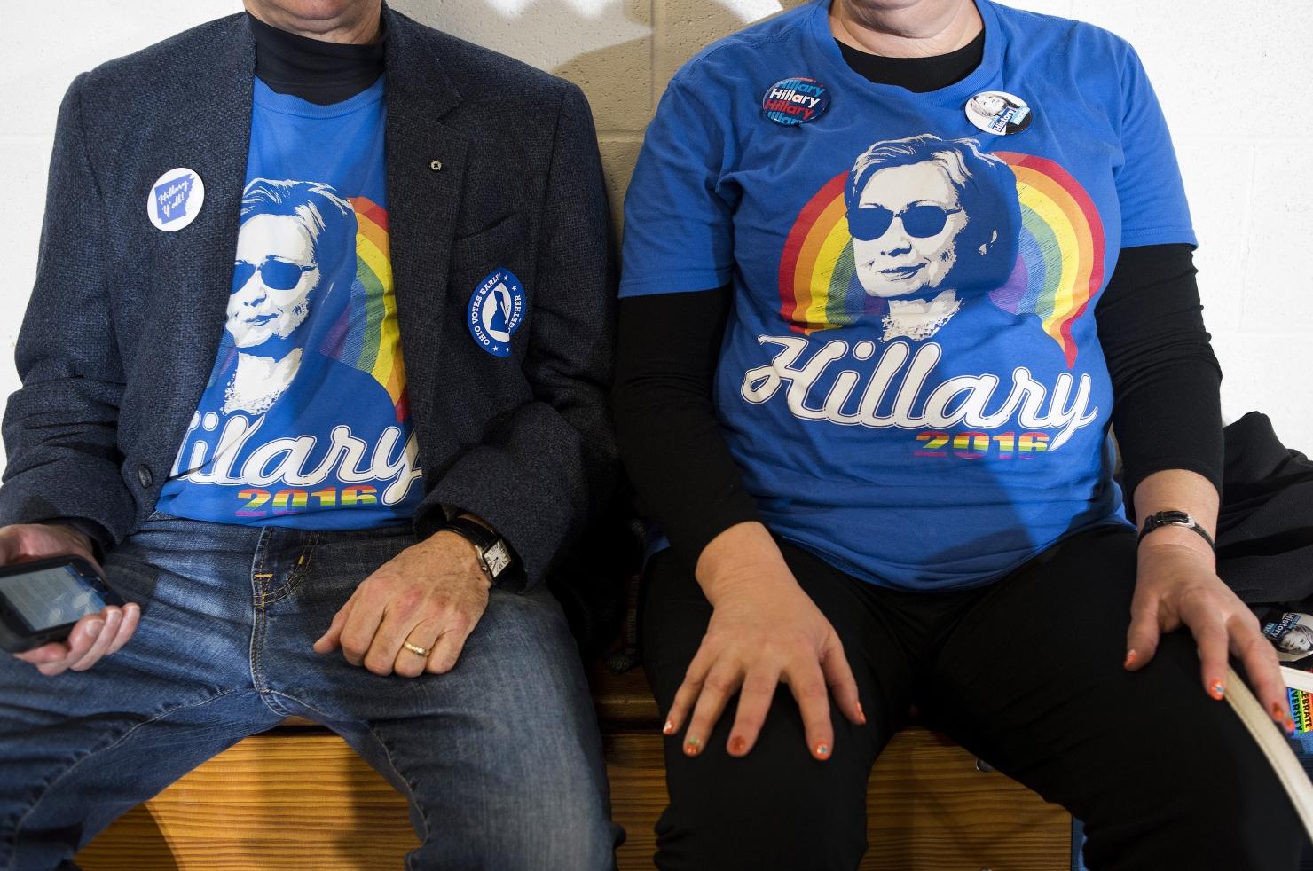 Tricourile purtate de americani în campania electorală
