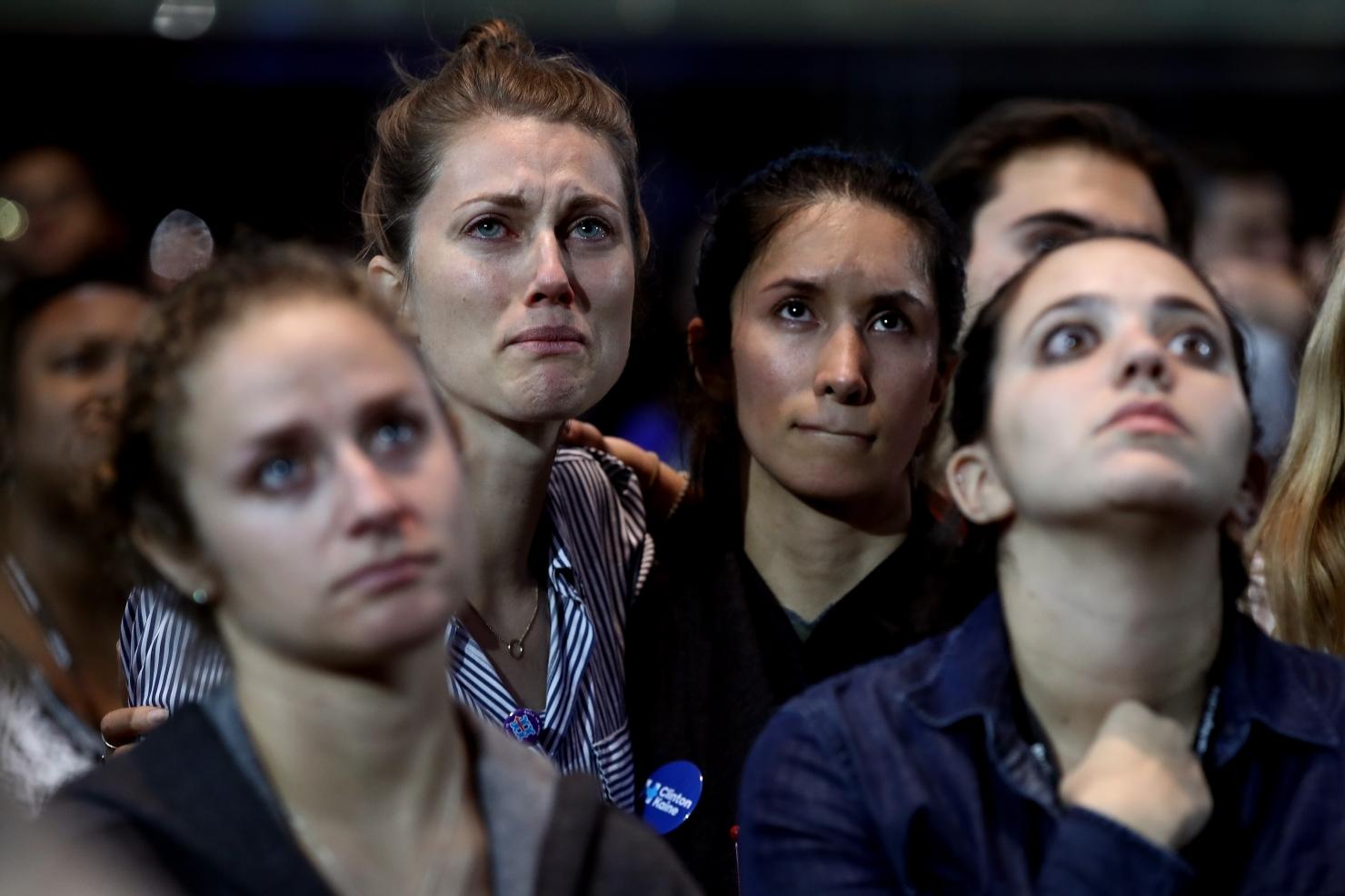 Susținătorii lui Clinton