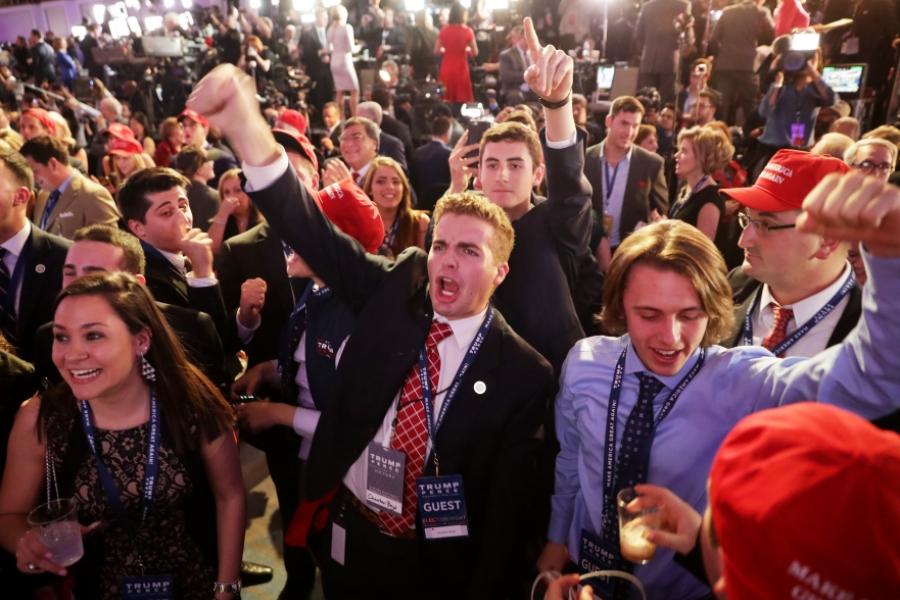 Susținătorii lui Trump