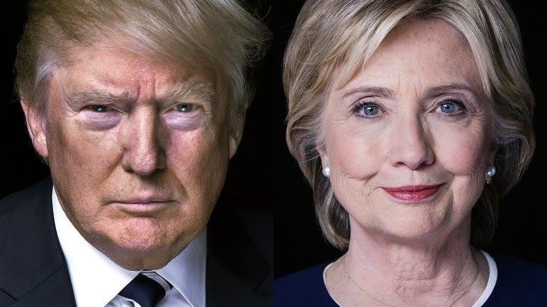 Donald Trump și Hillary Clinton. Rezultatele alegerilor