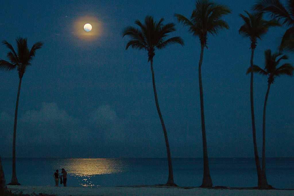 Superluna în Republica Dominicană