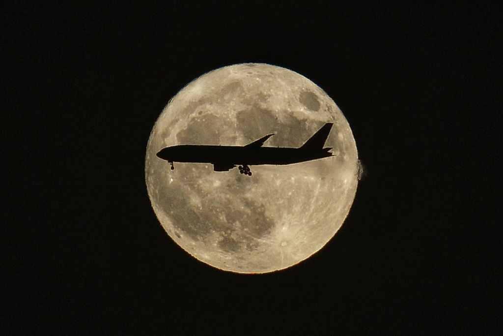 Superluna în China
