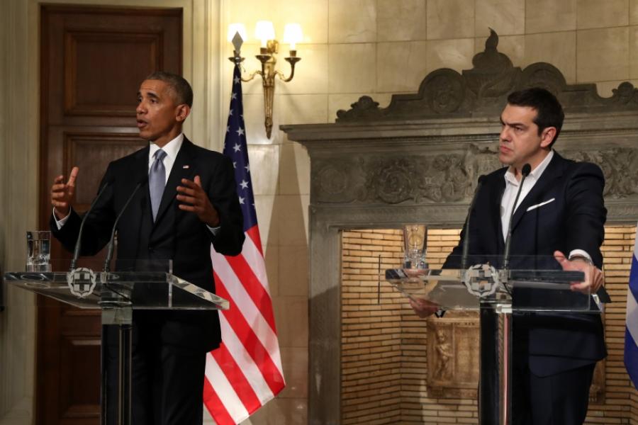 Obama și Tsipras
