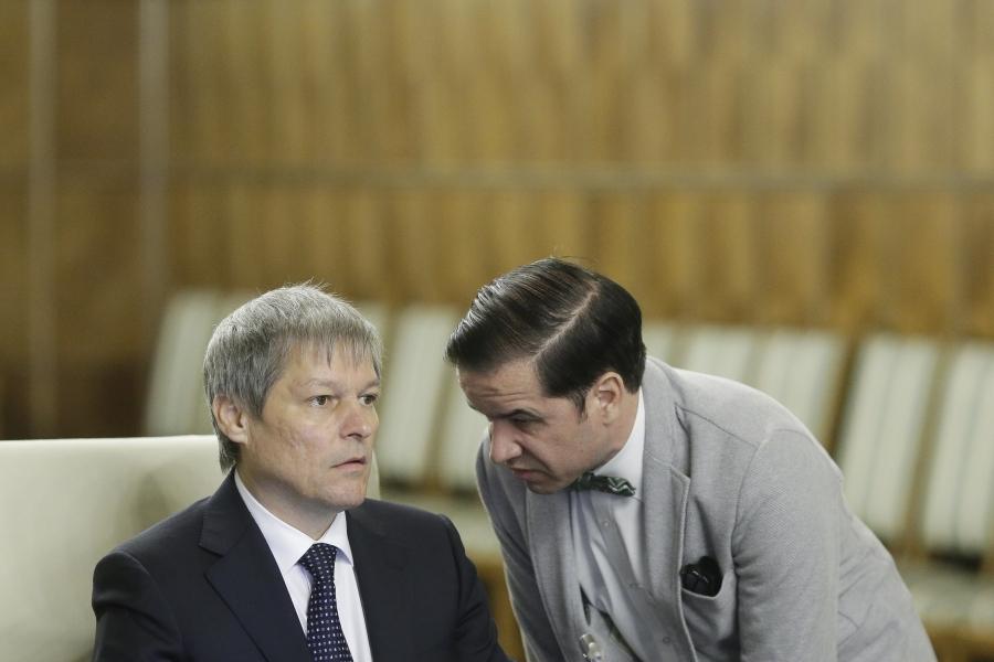 Dacian Cioloș și Valentin Mircea