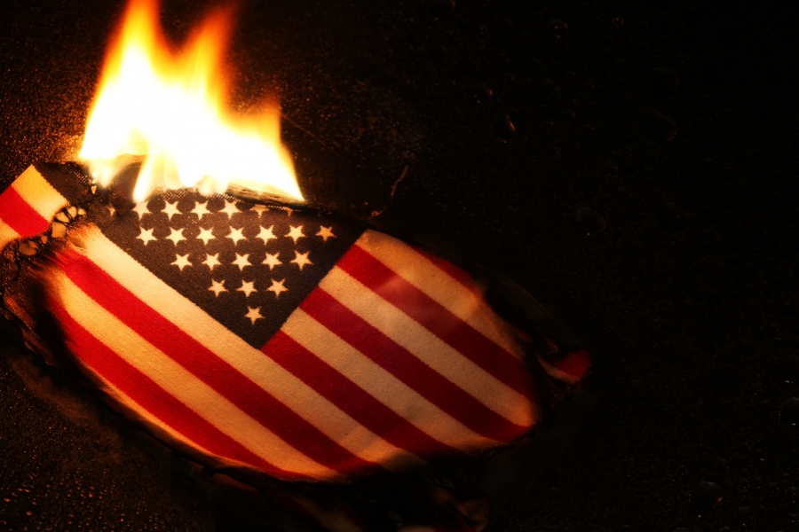 Arderea steagului