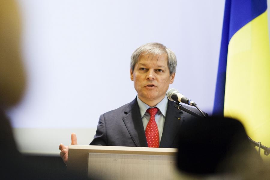 Premierul Dacian Cioloș
