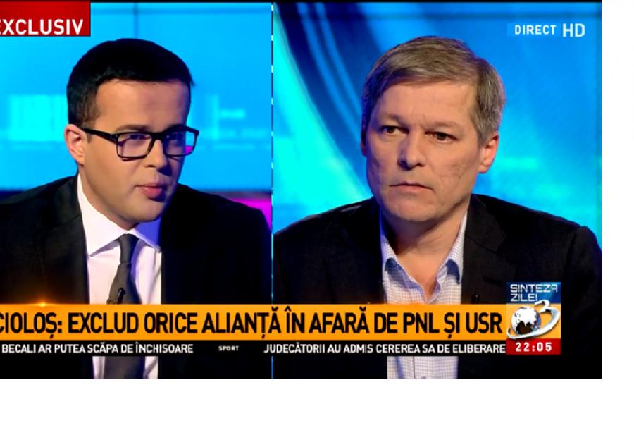 Dacian Ciolos la Antena 3