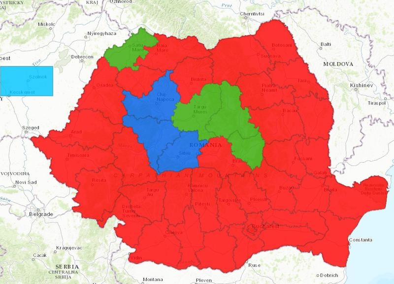 Rezultate alegeri parlamentare
