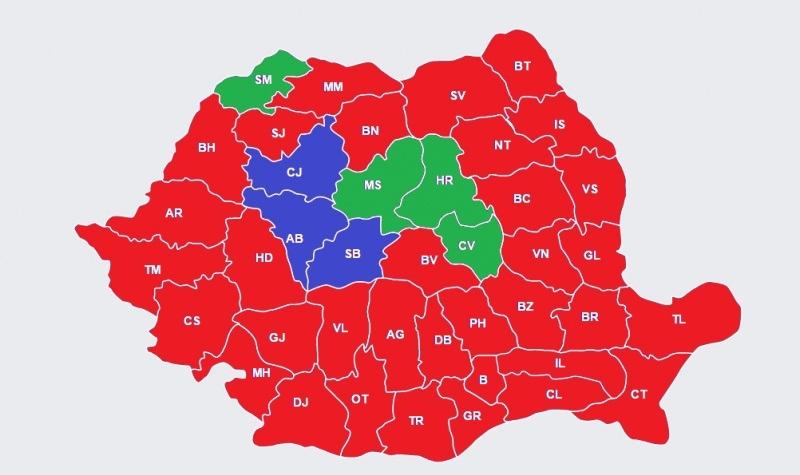 Harta electorală