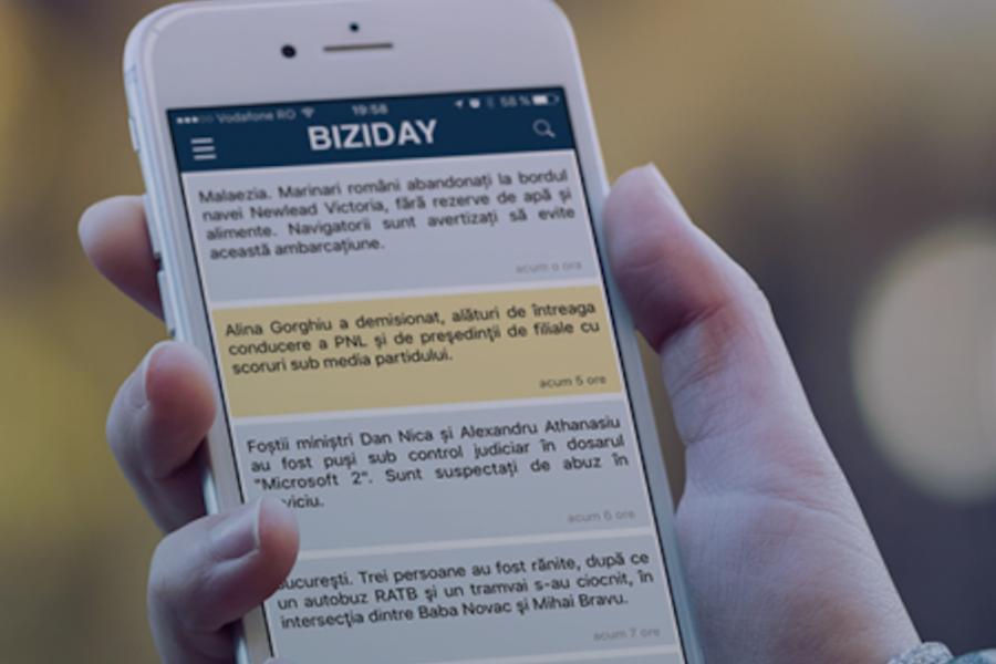 Aplicația Biziday